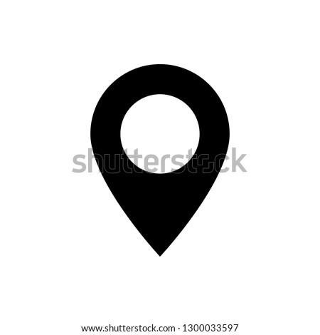 Location icon vector