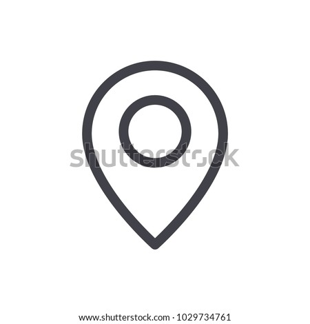 location icon vector Eps10