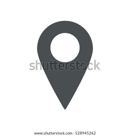 Location Icon Vector flat design style