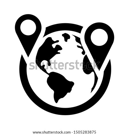 location international icon - From property, commercial house and real estate icons, mortgage icons