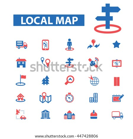 Location and Direction Clip Art