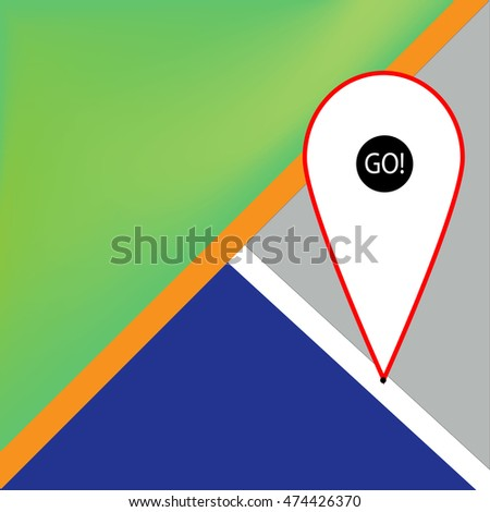location pointer icon markers