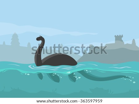 loch ness monster concept