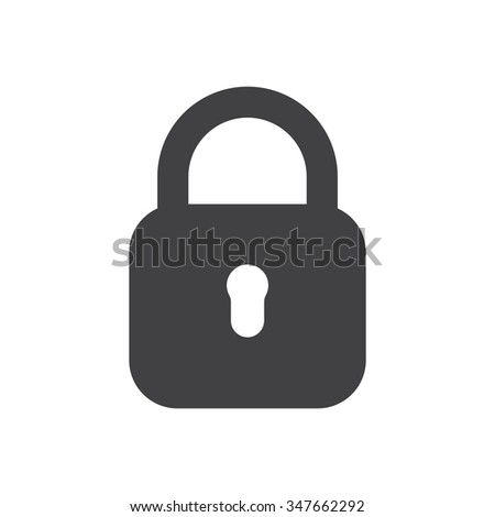 Shutterstock Lock Icon