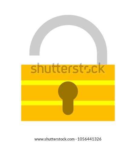 Lock icon - security padlock