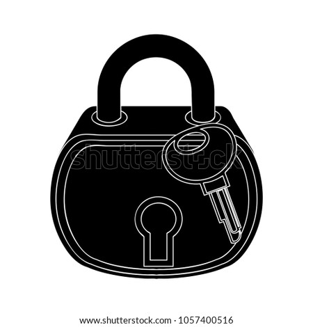 lock icon - security sign