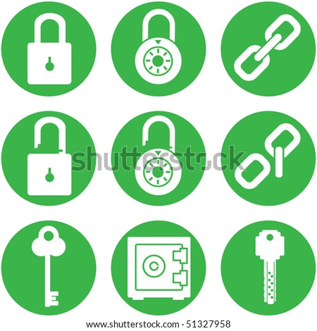 Lock - icon set