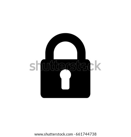 lock. - Vector icon