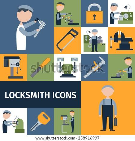 locksmith repairman metal