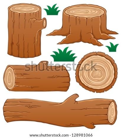 log theme collection 1   vector