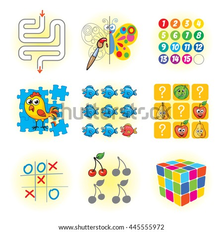 logic games for kids funny