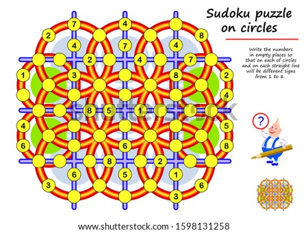 logic sudoku puzzle game for