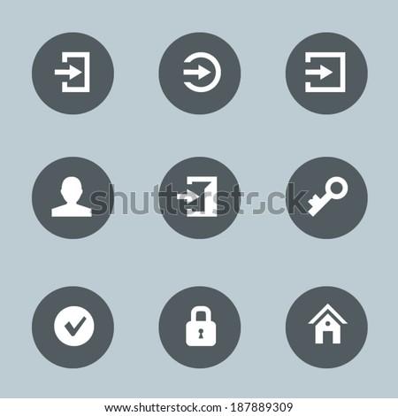 Login icons