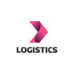 Logistic company logo. Arrow icon. Delivery icon. Arrow logo. Business logo. Arrow vector. Delivery service logo. Web icon. Network icon.  Digital icon. Technology icon. Marketing icon.