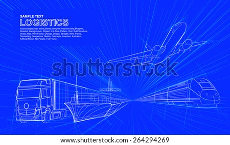 logistic line drawing