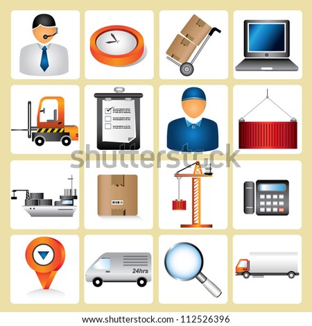 logistic, shipping, supply chain management