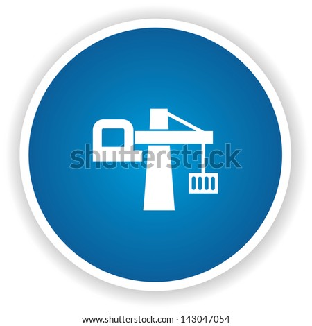 Logistic system symbol,vector