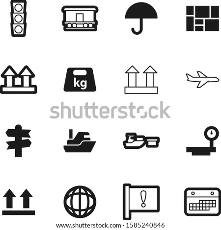 logistic vector icon set such as: choice, pounds, black, highway, map, crossroads, knowledge, month, trade, wagon, weather, empty, exclamation, grey, logistics, globe, urban, pictogram, calendar, kg