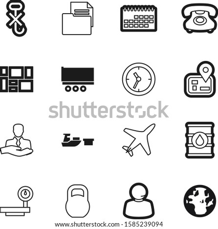 logistic vector icon set such as: gram, gasoline, back, person, clients, account, wheel, geography, hooks, front, navigation, paper, oil, desk, airline, road, energy, kg, round, mass, metal, planet