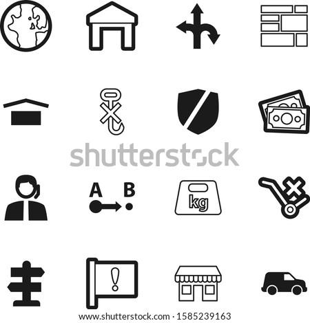 logistic vector icon set such as: risk, call, cafe, supermarket, pointer, kilogram, globe, roundabout, hooks, phone, stack, boutique, construction, health, care, sale, deliver, abstract, front, unit