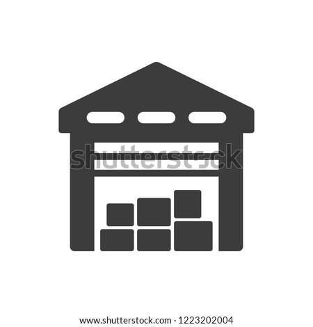 Logistics - Storehouse Icon