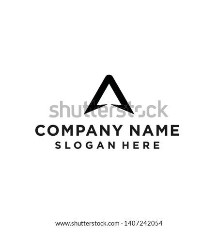 logo a / logo a triangle / triangle logo