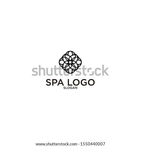 logo abstract art vector symbol design