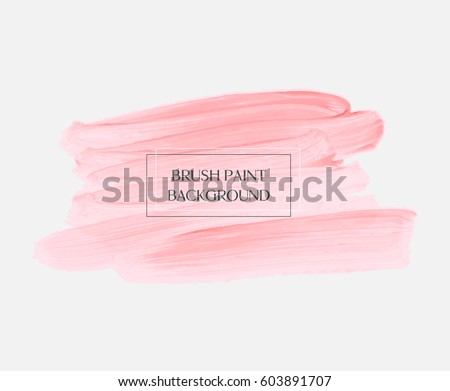 logo abstract background brush