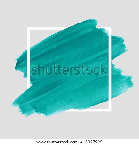 Logo art brush paint vector. Original grunge brush art paint abstract texture background design acrylic stroke poster vector illustration. Perfect watercolor design for headline, logo and banner.