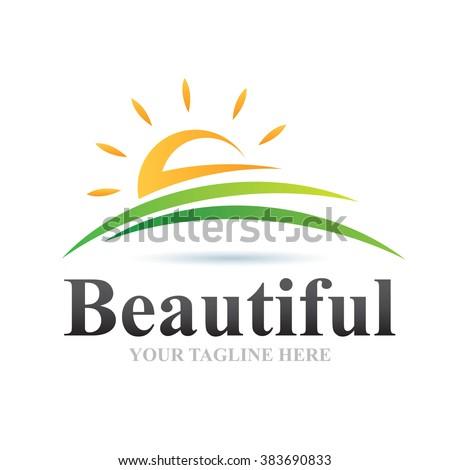 Logo Beautiful Icon Element Template Design Logos