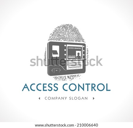 Logo Biometric Access Control System