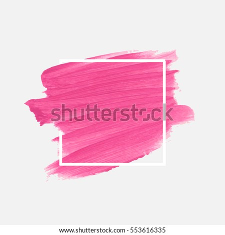 stock-vector-logo-brush-painted-watercolor-background-art-abstract-brush-paint-texture-design-acrylic-stroke