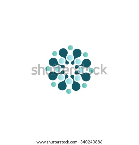 logo circle abstract design