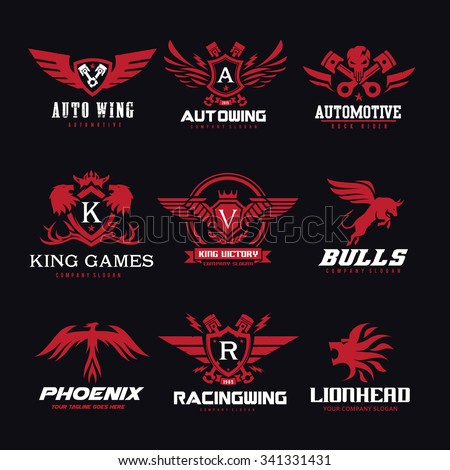 logo collection logo set