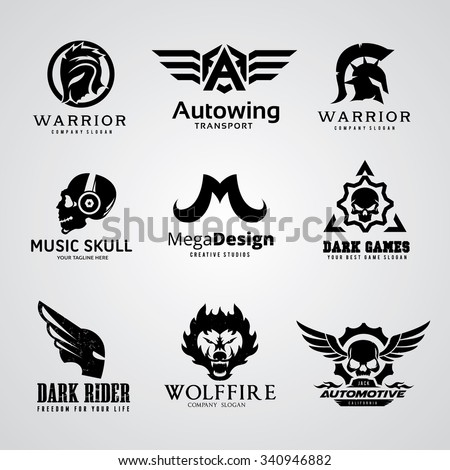 logo collection set automotive