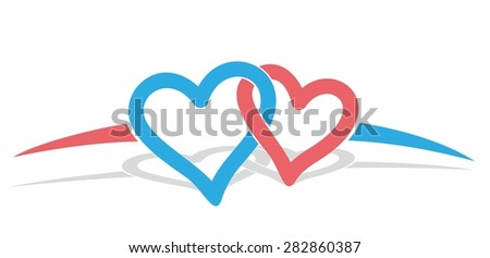 logo color hearts