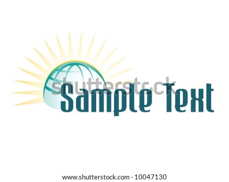 Logo Complement - stock vector