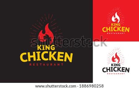 logo concept for roast chicken