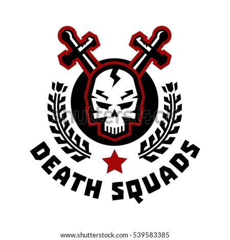 logo death squad swords cross