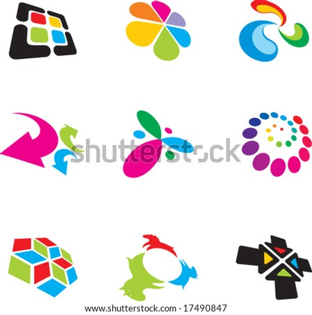 logo design. stock vector : logo design