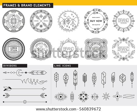 Tipi And Feather Vector Icon Download Free Vector Art Stock