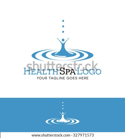 logo design for a spa or health