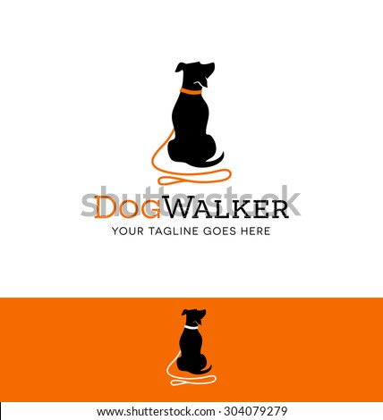 logo design for dog walking