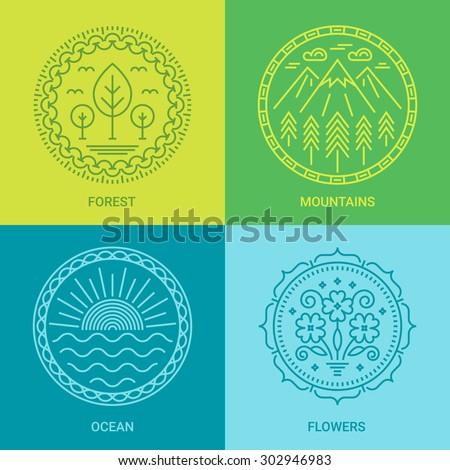 logo design templates in linear