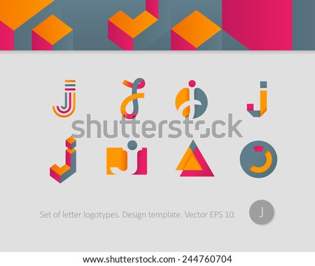 logo design templates stylized