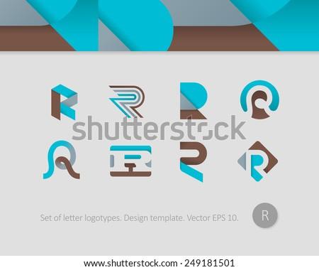 Logo Design Temp...R Design Letter