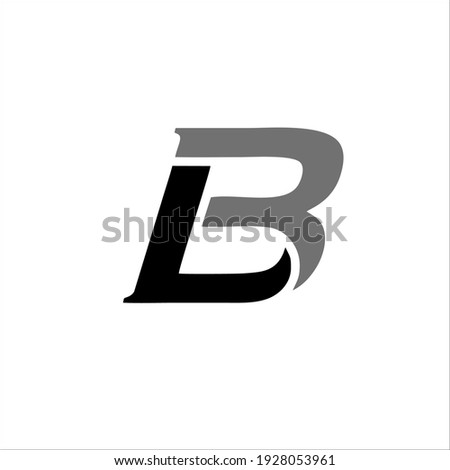LOGO DESIGN THE LETTER 'BL' FOR YOUR BRAND AND COMPANY NAME Stock fotó ©