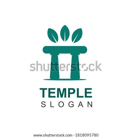logo design vector of nature