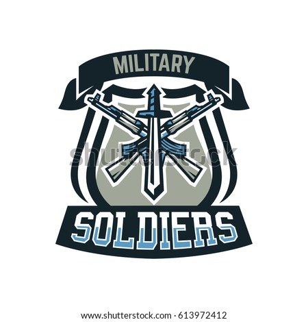 logo  emblem  military weapons