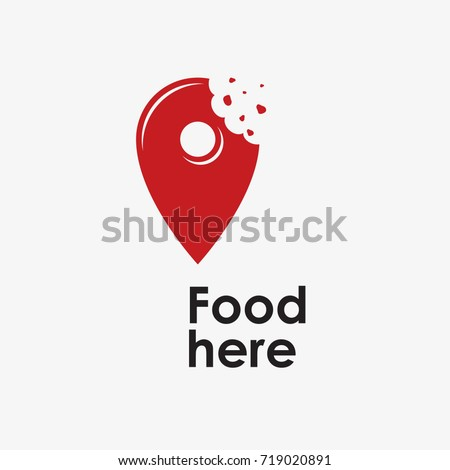 Logo food Stock photo ©